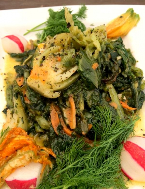 Cooking Spree in Alacati The First International Vanishing Tastes Festival