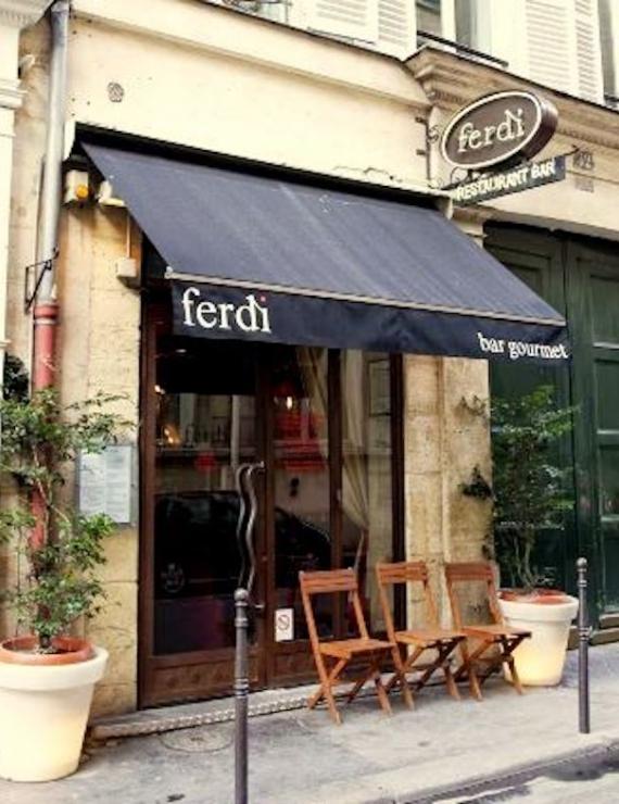 Paris'in En Lezzetli Hamburgeri: Ferdi Restaurant