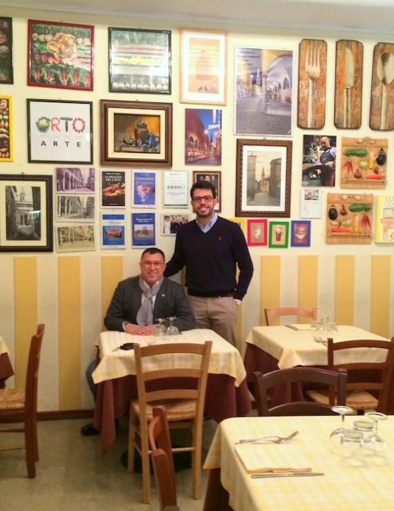 Modena'nın Renkli Lokantası: Trattoria Il Fantino