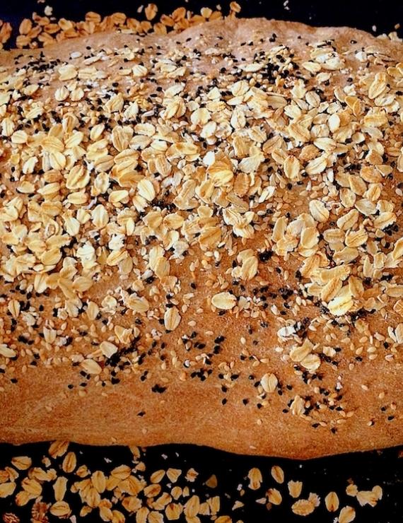 Ev Yapımı Buğday Ekmeği